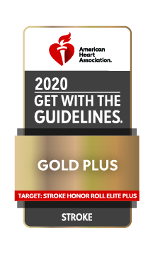 American Heart Association/American Stroke Association Get With The Guidelines®-Stroke Gold Plus Quality Achievement Award