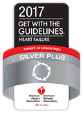 Premio Get With The Guidelines®-Heart Failure Silver Plus Quality Achievement Award de la American Heart Association