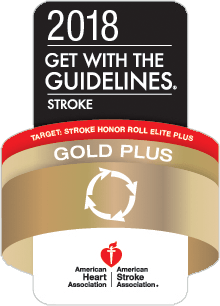 Get With The Guidelines®-Stroke Gold Plus Quality Achievement Award