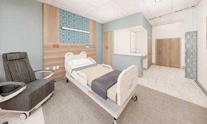 Patient Room – New Labor and Delivery Unit