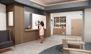 New Labor and Delivery Unit Rendering - Lobby