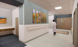 New Labor and Delivery Unit Lobby 2